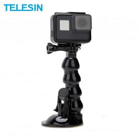 Telesin Jaws Flex Suction Mount for GoPro - GP-SUC-006 - Black - 1