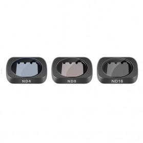 Telesin Lensa Neutral Density ND Filter Lens ND4 ND8 ND16 3 PCS for DJI Osmo Pocket - OS-FLT-ND1 - Black - 4