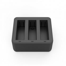 TELESIN Charger Baterai 3 Slot for DJI Osmo Action - OS-BCG-002 - Black - 3