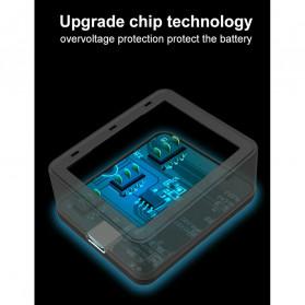 TELESIN Charger Baterai 3 Slot for DJI Osmo Action - OS-BCG-002 - Black - 5