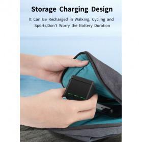TELESIN Charger Baterai 3 Slot Storage Box for DJI Osmo Action - OS-BCG-003 - Black - 8