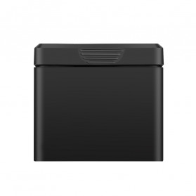 TELESIN Charger Baterai 3 Slot Storage Box with 2xBattery for DJI Osmo Action - OS-BnC-003 - Black - 4
