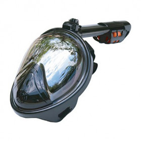 Telesin Full Face Snorkel Diving Scuba Mask with Tripod Mount for GoPro - GP-DIV-GS3 - Black - 3
