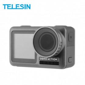 Filter Lensa Action Camera - Telesin Lensa Polarizing CPL Filter Lens for DJI Osmo Action - OA-CPL - Black
