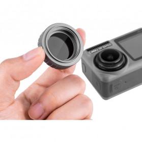 Telesin Lensa Polarizing CPL Filter Lens for DJI Osmo Action - OA-CPL - Black - 6