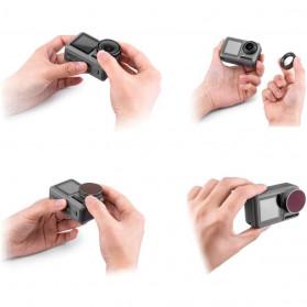Telesin Lensa Polarizing CPL Filter Lens for DJI Osmo Action - OA-CPL - Black - 7