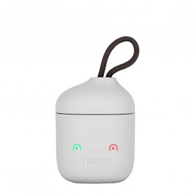 TELESIN Allin Charger Box Baterai Kamera Card Reader Storage for Sony NP-FZ100 - SN-BCG-FZ100 - Gray - 2