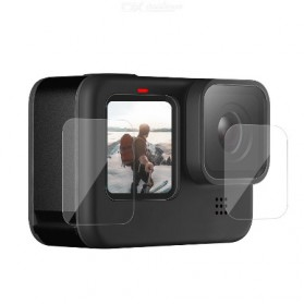 Telesin Lens & LCD Tempered Glass Protector for GoPro Hero 9 - GP-FLM-901