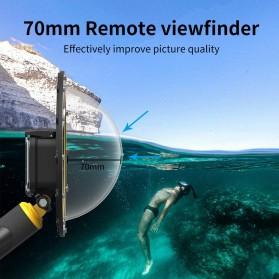 Telesin Dome Port Underwater 6 Inch Acrylic Base for GoPro Hero 9 - GP-DMP-T09 - Yellow - 3