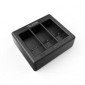 TELESIN Charger Baterai 3 Slot for GoPro Hero 9 - GP-BCG-902 - Black - 4