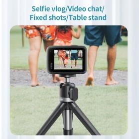 Telesin Mini Tripod Tongsis Selfie Stick Smartphone and DSLR - GP-MNP-091-W - Black - 6