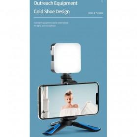 Telesin Tripod Mini Smartphone + Clamp Holder - TE-TRP-MB1 - Black Blue - 4