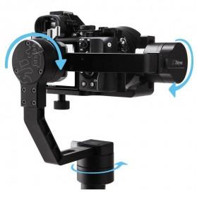 Zhiyun Tech Crane 3-Axis Smart Control Gimbal Stabilizer for DSLR - Black - 3