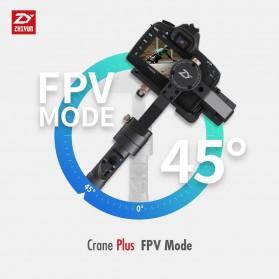 Zhiyun Tech Crane Plus 3-Axis Smart Control Gimbal Stabilizer - Black - 2