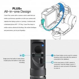 Zhiyun Tech Crane Plus 3-Axis Smart Control Gimbal Stabilizer - Black - 3