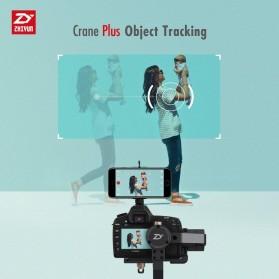 Zhiyun Tech Crane Plus 3-Axis Smart Control Gimbal Stabilizer - Black - 4
