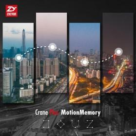 Zhiyun Tech Crane Plus 3-Axis Smart Control Gimbal Stabilizer - Black - 5