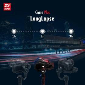 Zhiyun Tech Crane Plus 3-Axis Smart Control Gimbal Stabilizer - Black - 6
