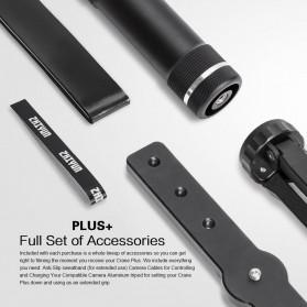 Zhiyun Tech Crane Plus 3-Axis Smart Control Gimbal Stabilizer - Black - 7