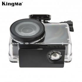 KingMa Underwater Waterproof Case 45m for Xiaomi Mijia 4K - Black - 2
