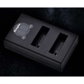 Kingma Charger Baterai 2 Slot for DJI Osmo Action - BM048-AB1 - Black - 3