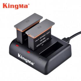 Kingma Charger Baterai 3 Slot for DJI Osmo Action - BM055 - Black - 4