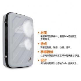 BUBM Kotak Tas Organizer EVA for GoPro Xiaomi YI SJCAM - EGP-M (ORIGINAL) - Black - 6