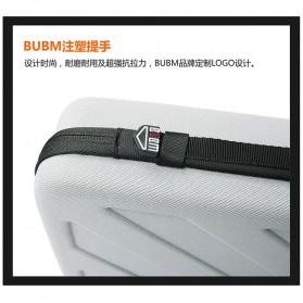BUBM Kotak Tas Organizer EVA for GoPro Xiaomi YI SJCAM - EGP-M (ORIGINAL) - Black - 8