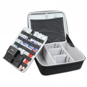 BUBM Kotak Tas Organizer Kamera Aksi dan Aksesoris - ETP (ORIGINAL) - Black - 2