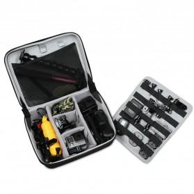 BUBM Kotak Tas Organizer Kamera Aksi dan Aksesoris - ETP (ORIGINAL) - Black - 4