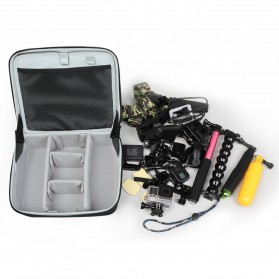 BUBM Kotak Tas Organizer Kamera Aksi dan Aksesoris - ETP (ORIGINAL) - Black - 5