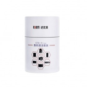 BUBM 5 in 1 Cleaning Kit Pembersih Layar LCD Smartphone Laptop Lensa Kamera - STD-FIVE (ORIGINAL) - 7