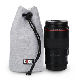 BUBM Tas Lensa Kamera DSLR Lens Bag Size L - JTY-L - Gray