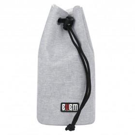BUBM Tas Lensa Kamera DSLR Lens Bag Size L - JTY-L - Gray - 4