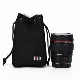 BUBM Tas Lensa Kamera DSLR Lens Bag Size M - JTY - Black