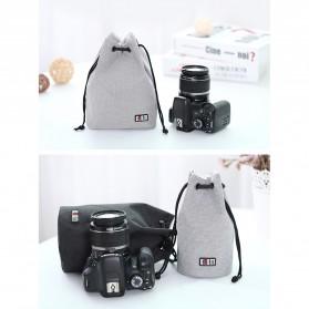BUBM Tas Lensa Kamera DSLR Lens Bag Size M - JTY - Black - 8