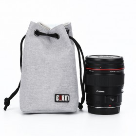 BUBM Tas Lensa Kamera DSLR Lens Bag Size M - JTY - Gray