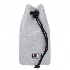 BUBM Tas Lensa Kamera DSLR Lens Bag Size M - JTY - Gray - 4