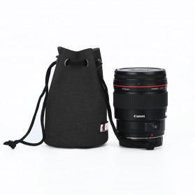 BUBM Tas Lensa Kamera DSLR Lens Bag Size S - JTY - Black
