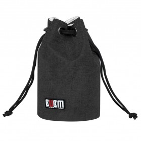 BUBM Tas Lensa Kamera DSLR Lens Bag Size S - JTY - Black - 5