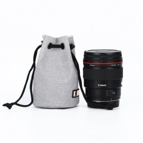 BUBM Tas Lensa Kamera DSLR Lens Bag Size S - JTY - Gray - 1
