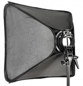 Godox S-Type Softbox Flash Diffuser Camera DSLR 80 X 80 CM - SFUV - Black - 4