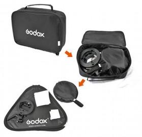 Godox S-Type Softbox Flash Diffuser Camera DSLR 80 X 80 CM - SFUV - Black - 9