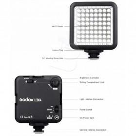 Godox Flash Kamera DSLR Universal 64 LED - Black - 5
