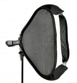 Godox S-Type Softbox Flash Diffuser Camera DSLR 50 X 50 CM - Black - 3