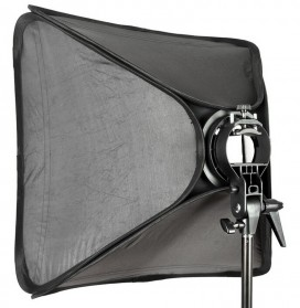 Godox S-Type Softbox Flash Diffuser Camera DSLR 50 X 50 CM - Black - 4