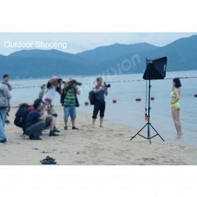 Godox S Speedlite Flash Mount Holder Bracket Lampu Kamera - Black - 9