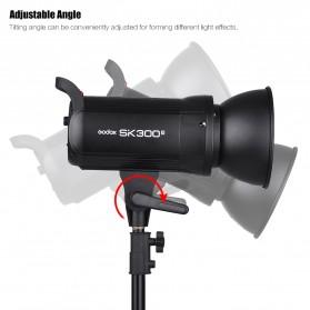 Godox SK300II Professional Compact Studio Flash Strobe Light 300Ws 2.4G Wireless - Black - 4