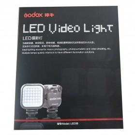 Godox Flash Kamera DSLR 36 LED Universal - LED 36 - Black - 8