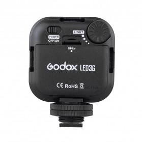 Godox Flash Kamera DSLR 36 LED Universal - LED 36 - Black - 2